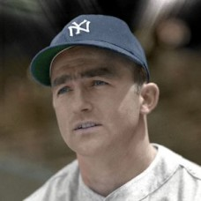 "Billy Johnson - c. 1946-50 New York Yankees Baseball - 4""x6"" colorized print"