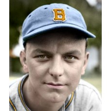 "Bob Kahle - 1938 Boston Bees Baseball - 4""x6"" colorized print"