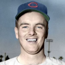 "Bob Kelly - c. 1951-53 Chicago Cubs 4""x6"" colorized print"
