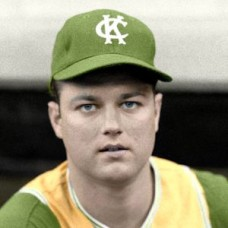 "Bob Meyer - 1964 Kansas City Athletics 4""x6"" colorized print"