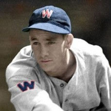 "Bucky Jacobs - 1937 Washington Senators 4""x6"" colorized print"