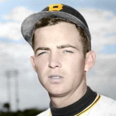 "Dale Coogan - 1950 Pittsburgh Pirates 4""x6"" colorized print"