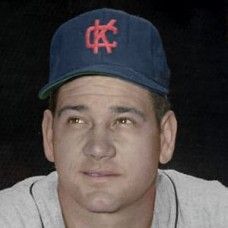 "Danny Kravitz - 1960 Kansas City Athletics 4""x6"" colorized print"