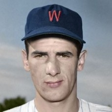 "Dean Stone - c. 1953-55 Washington Senators 4""x6"" colorized print"