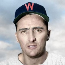 "Dick Starr - 1951 Washington Senators 4""x6"" colorized print"