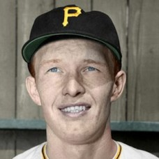 "Don Carlsen - 1952 Pittsburgh Pirates 4""x6"" colorized print"
