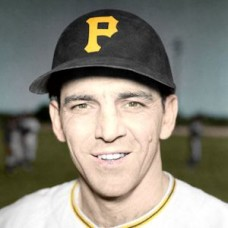"Eddie Pellagrini - c. 1953-54 Pittsburgh Pirates - 4""x6"" colorized print"