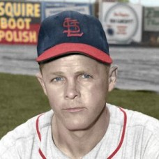 "Ferrell Anderson - 1953 St. Louis Cardinals - 4""x6"" colorized print"