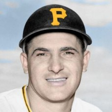 "George Freese - 1955 Pittsburgh Pirates 4""x6"" colorized print"