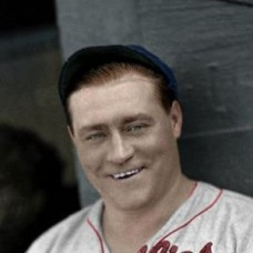 "Hack Wilson - 1934 Philadelphia Phillies 4""x6"" colorized print"