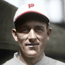 "Hal Carlson - 1924 Philadelphia Phillies 4""x6"" colorized print"