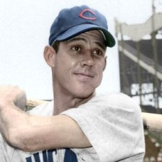 "Hal Rice - 1954 Chicago Cubs 4""x6"" colorized print"