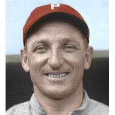 "Hans Lobert - c. 1913-14 Philadelphia Phillies 4""x6"" colorized print"