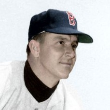 "Hersh Freeman - 1952 Boston Red Sox 4""x6"" colorized print"