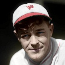 "Hub Pruett - 1927 Philadelphia Phillies 4""x6"" colorized print"