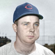 "Jim King - 1955 Chicago Cubs 4""x6"" colorized print"