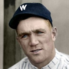 "Jim O'Neill - c. 1920-23 Washington Senators 4""x6"" colorized print"
