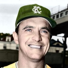 "Johnny Blanchard - 1965 Kansas City Athletics 4""x6"" colorized print"