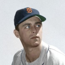 "Ken Johnson - 1952 Detroit Tigers 4""x6"" colorized print"