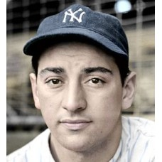 "Marius Russo - 1941 New York Yankees 4""x6"" colorized print"