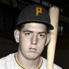 "Paul Smith - c. 1953-58 Pittsburgh Pirates 4""x6"" colorized print"