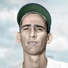 "Raul Sanchez - 1952 Washington Senators 4""x6"" colorized print"