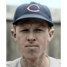 "Red Embree - 1942 Cleveland Indians 4""x6"" colorized print"