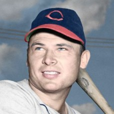 "Ted Sepkowski - 1946 Cleveland Indians 4""x6"" colorized print"