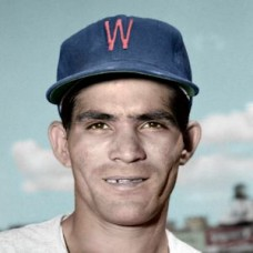 "Yo-Yo Davalillo - 1953 Washington Senators 4""x6"" colorized print"