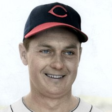 "Al Gettel - 1947 Cleveland Indians - 4""x6"" colorized print"