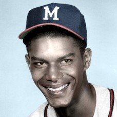 "Andre Rodgers - 1961 Milwaukee Braves - 4""x6"" colorized print"