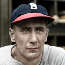 "Bill Swift - 1940 Boston Bees 4""x6"" colorized print"