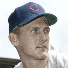"Bob Borkowski - 1951 Chicago Cubs 4""x6"" colorized print"