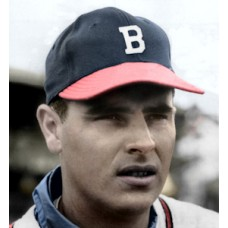 "Bobby Sturgeon - 1948 Boston Braves - 4""x6"" colorized print"