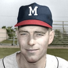 "Bobby Tiefenauer - 1964 Milwaukee Braves - 4""x6"" colorized print"