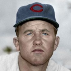 "Bud Hardin - 1952 Chicago Cubs 4""x6"" colorized print"