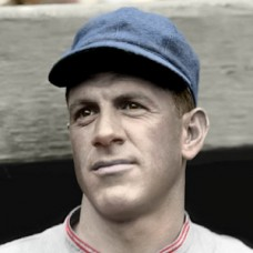 "Charlie Grimm - 1927 Chicago Cubs - 4""x6"" colorized print"