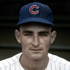 "Dave Gerard - 1962 Chicago Cubs 4""x6"" colorized print"