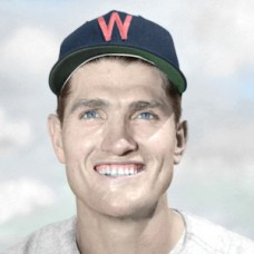 "Don Grate - 1951 Washington Senators 4""x6"" colorized print"