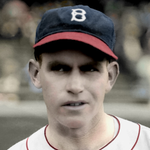 "Ed Moriarty - 1935 Boston Braves - 4""x6"" colorized print"