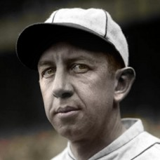 "Eddie Collins - 1927 Philadelphia Athletics - 4""x6"" colorized print"