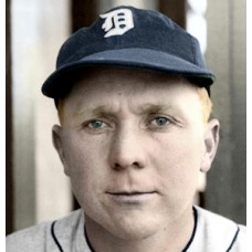 "Gil English - 1937 Detroit Tigers - 4""x6"" colorized print"