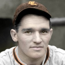 "Glenn McQuillen - 1938 St. Louis Browns - 4""x6"" colorized print"