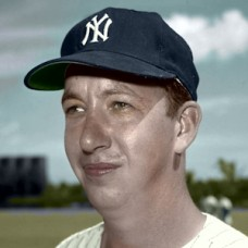 "Hal Stowe - 1960 New York Yankees - 4""x6"" colorized print"