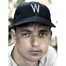 "Hardin Cathey - 1941 Washington Senators - 4""x6"" colorized print"