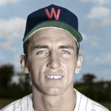 "Harley Grossman - 1952 Washington Senators 4""x6"" colorized print"
