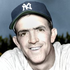 "Harry Schaeffer - 1952 New York Yankees - 4""x6"" colorized print"