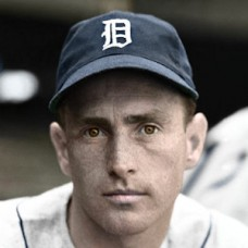 "Jake Wade - 1938 Detroit Tigers - 4""x6"" colorized print"