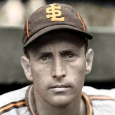 "Jake Wade - 1939 St. Louis Browns - 4""x6"" colorized print"