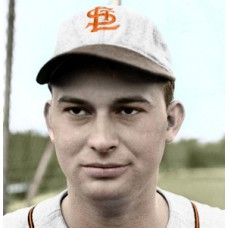 "Jim Bilbrey - 1949 St. Louis Browns 4""x6"" colorized print"